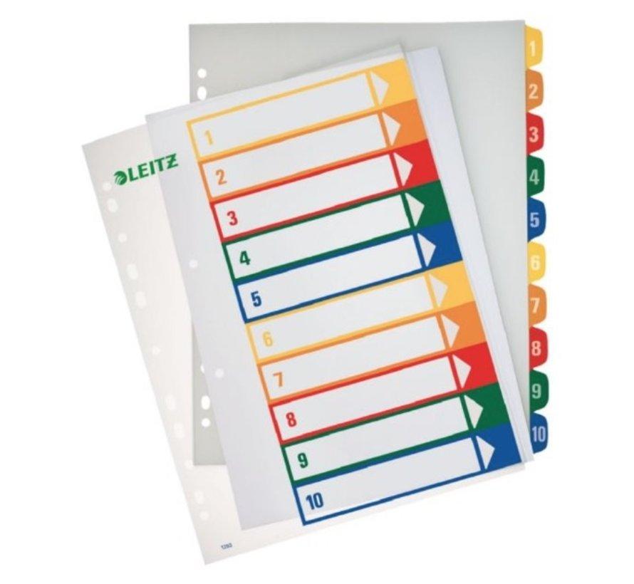 Printbare tabbladen - 12 delig