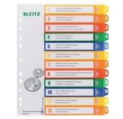 Leitz Printbare tabbladen - 12 delig