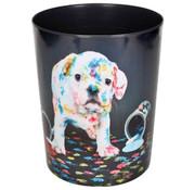 -1st- Prullenmand - hond verf