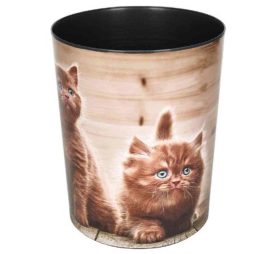 Prullenmand - katten
