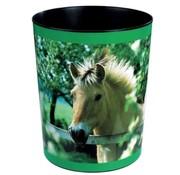 . Prullenmand - paard achter hek