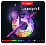 Bruynzeel Teens kleurpotloden - roze 24st