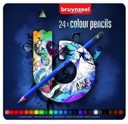 Bruynzeel Teens kleurpotloden - blauw 24st