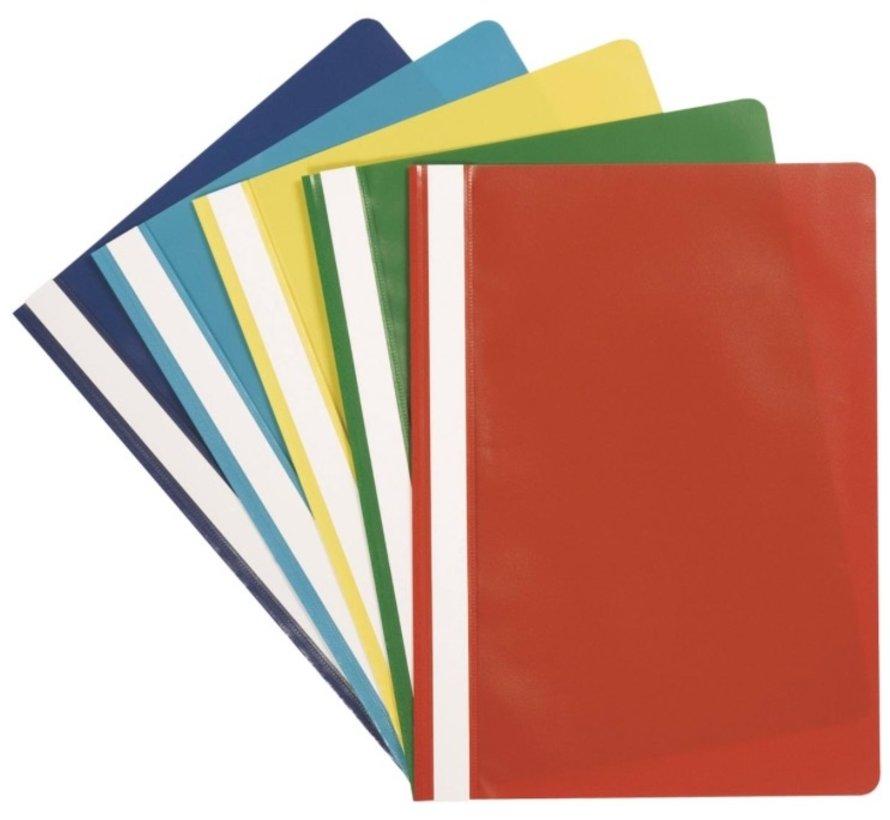 5 Snelhechters - gekleurd