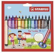 Stabilo Trio Scribbi stiften - 14 stuks