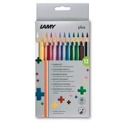 Lamy Plus kleurpotloden - 12 stuks
