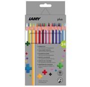 Lamy Plus kleurpotloden - 24 stuks