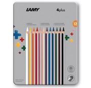 Lamy 4Plus kleurpotloden - blik 12 stuks