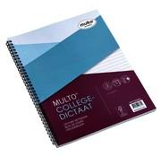 Multo Collegeblok A4 - gelinieerd college dicaat