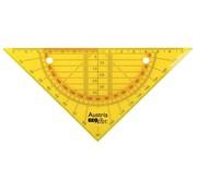 Aristo Ringband geodriehoek - flexibel oranje