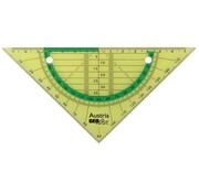 Aristo Ringband geodriehoek - flexibel groen
