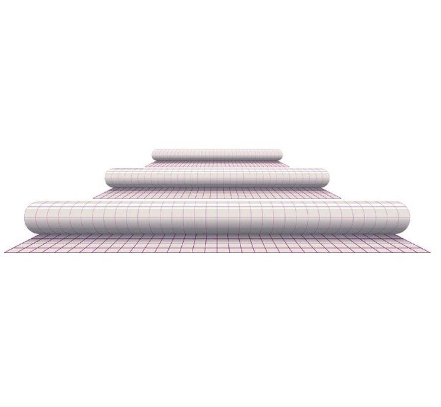 Kaftplastic zelfklevend - 33cm x 2,5m