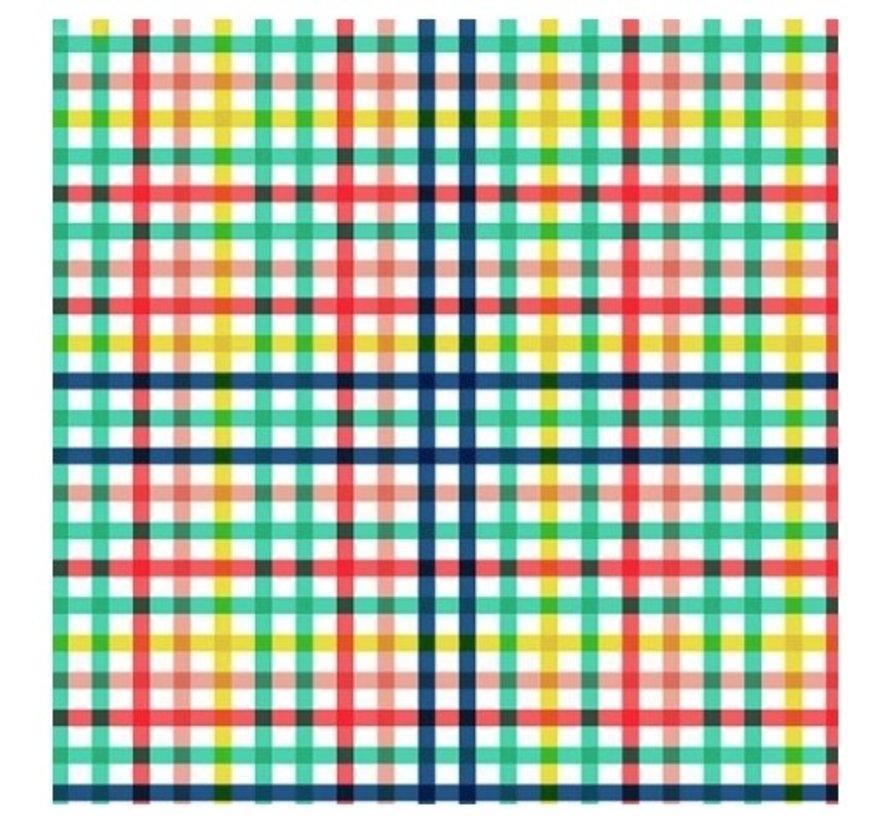 Kaftpapier - Happy Grid