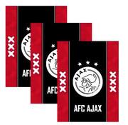 Ajax A5 schriften lijn - 3 stuks