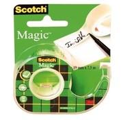 Scotch Magic tape met houder - 12mm x 10m