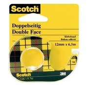 Scotch Dubbelzijdig tape - 12mm x 6,3m