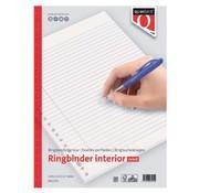 Quantore Ringband papier - gelinieerd 150 vel