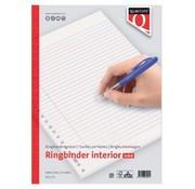 Quantore Ringband papier - gelinieerd 100 vel