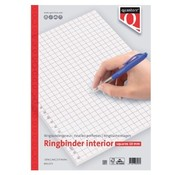 Quantore Ringband papier - geruit 10mm 100 vel