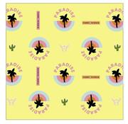 Fashionchick Kaftpapier - paradise geel