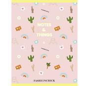 Fashionchick A4 lijntjes schrift - notes & things