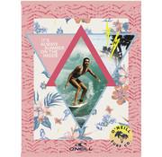 O'Neill A4 ruitjes schrift girls - roze