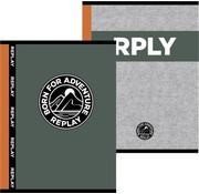 Replay A5 schriften - grey