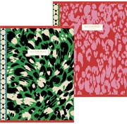 Accessorize Fashion A5 schriften lijn - red/green