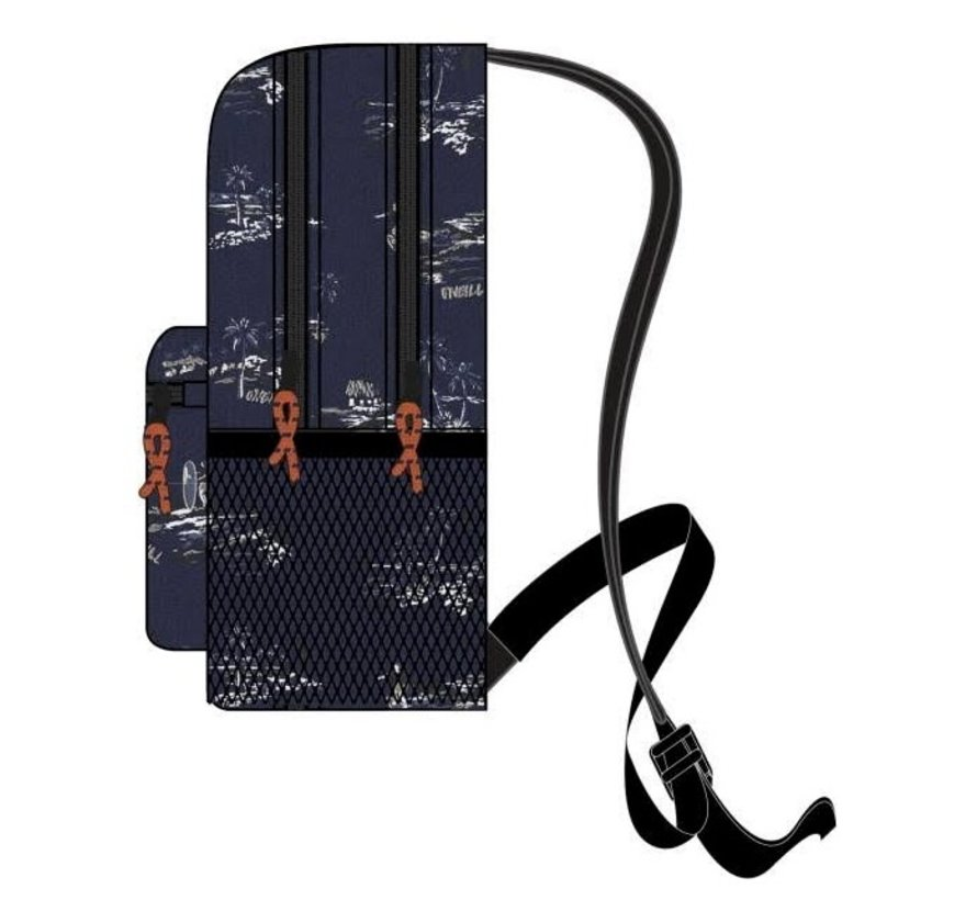 Rugtas groot - donkerblauw