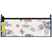 O'Neill Schooletui rond - roze bloemen