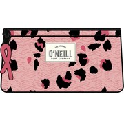 O'Neill Schooletui dubbel - pink leopard