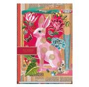 Pip Studio Notitieboek A5 lijn - konijn