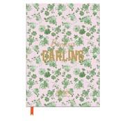 Rice Notitieboek A4 lijn - roze