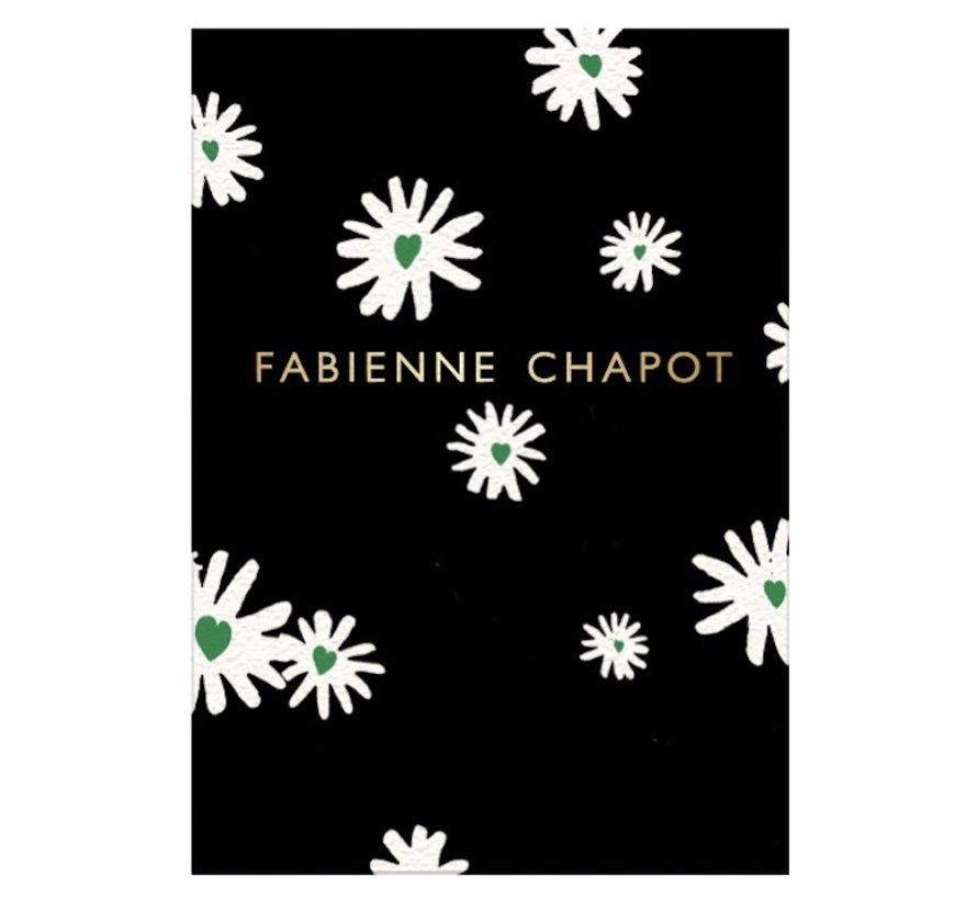 Notitieboek A4 gelinieerd - bloemen