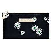 Fabienne Chapot FAB Etui plat - zwart daisies