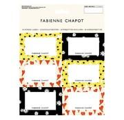 Fabienne Chapot FAB Etiketten - flower & heart