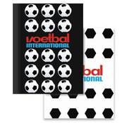 Voetbal international A5 schriften - zwart/wit
