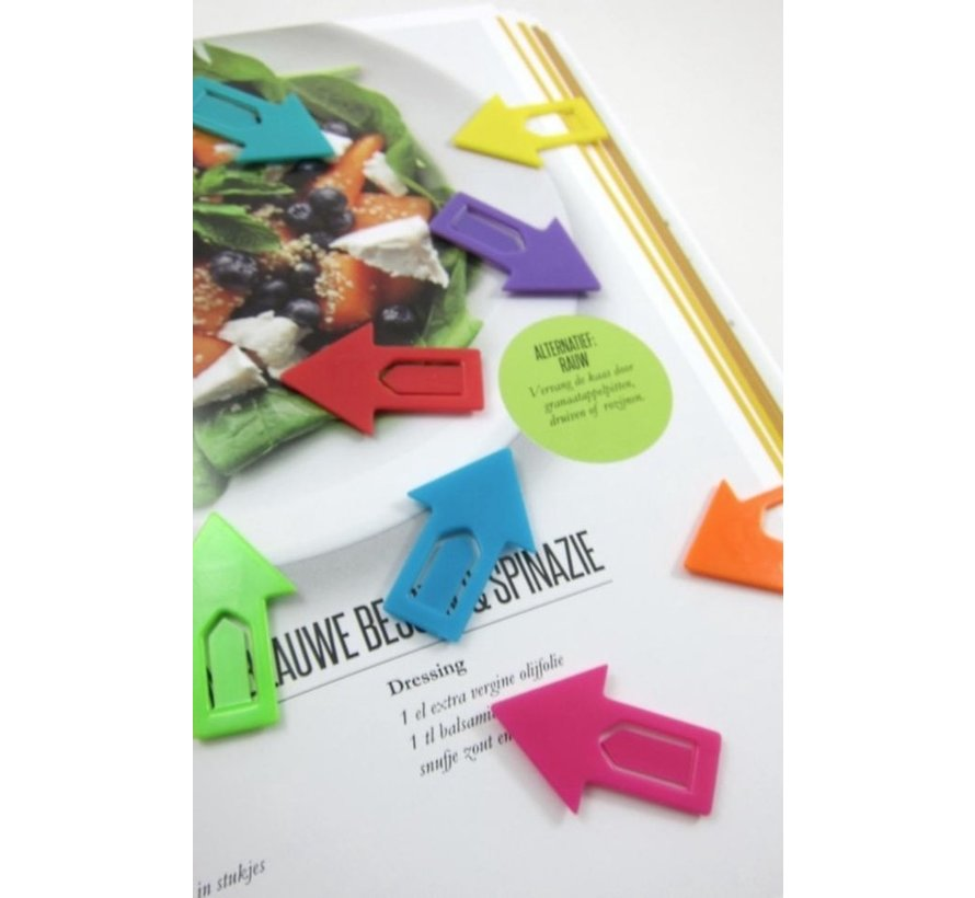 8 Index tabs / bookmarks