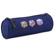 Rubik's Etui rond - blauw