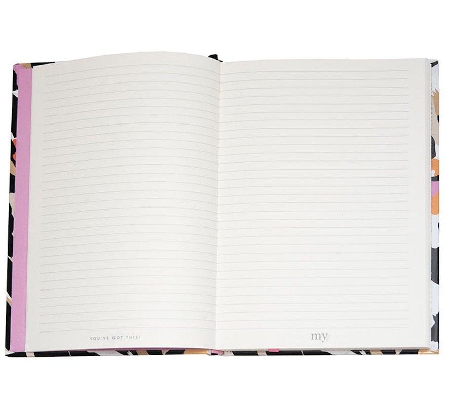 Gelinieerd A5 notitieboek