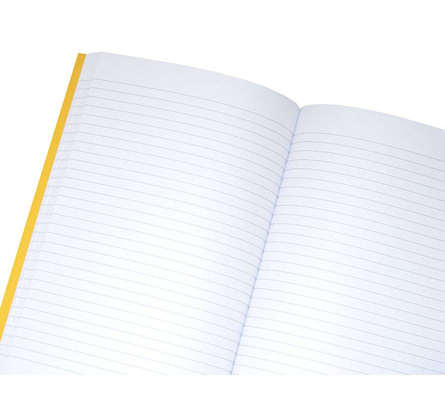 Notitieboek A5 gelinieerd met mooi wit papier