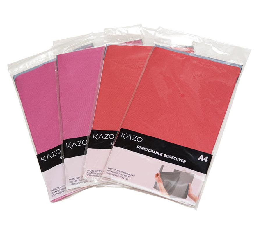 4 Rekare A4 kaften roze/rood in voordeelverpakking