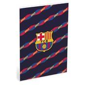 Barcelona A4 ruitjes schrift - Barca