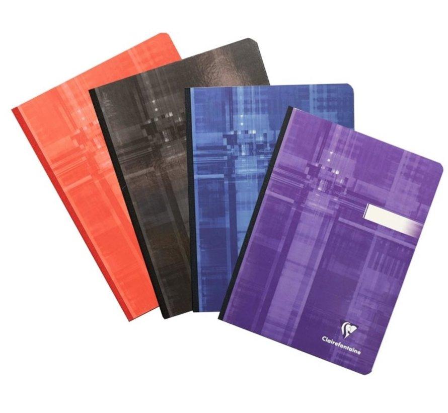 Notitieboek A5 gelinieerd - gekleurd