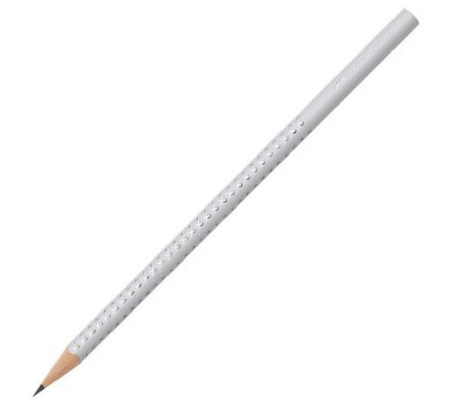 Standaard grijs, grafiet potlood, met gekleurde behuizing - Copy