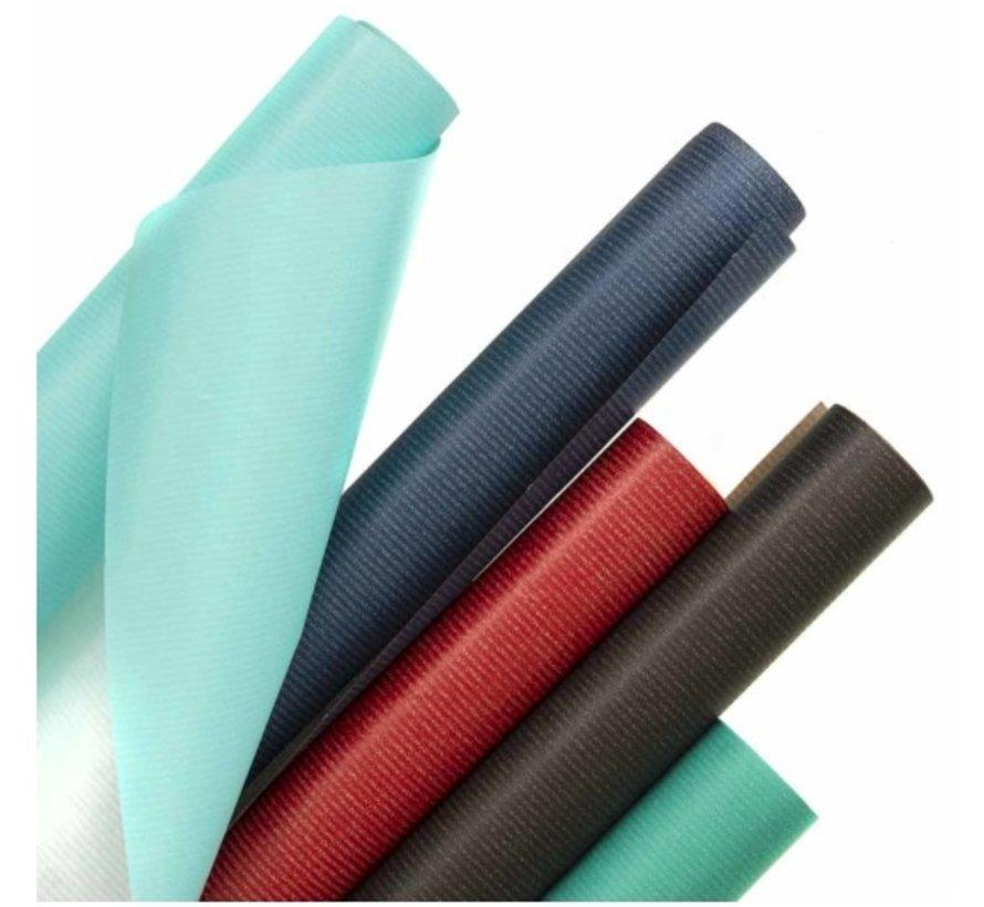 Kraft kaftpapier - zwart 50cm breed
