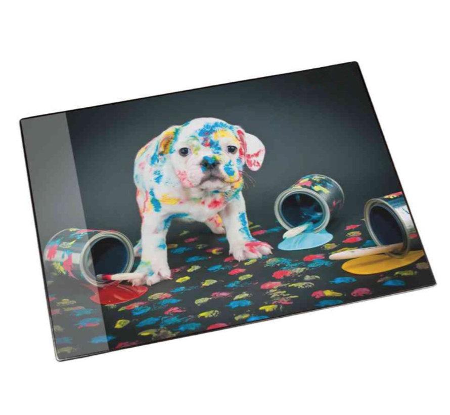 Buro onderlegger / deskmat - hond