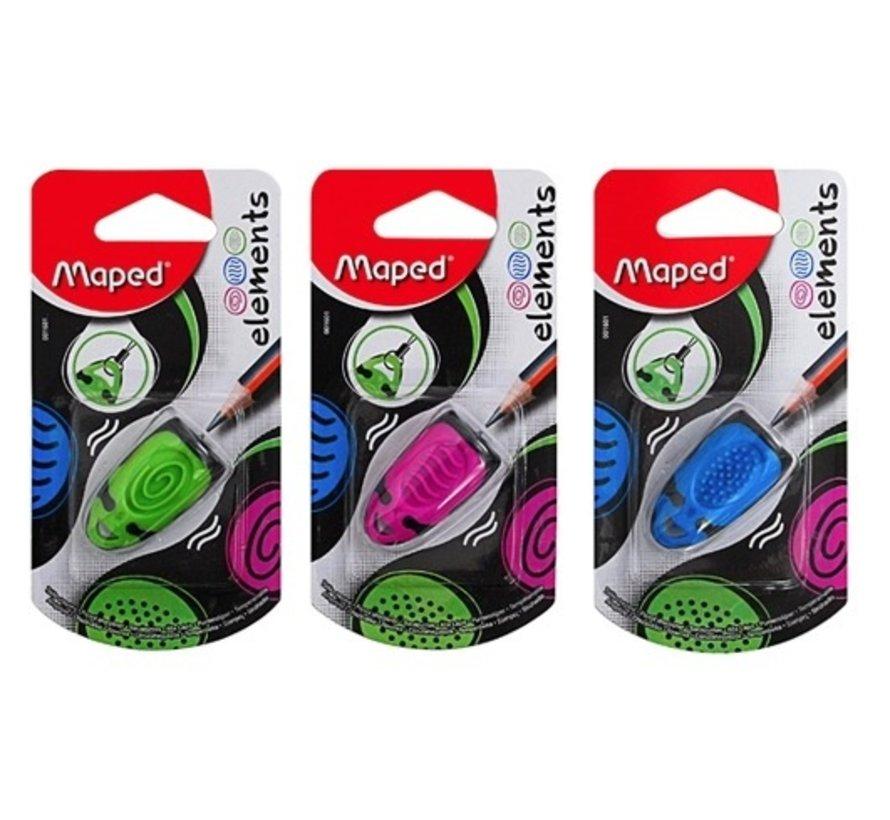 Kies zelf je favoriete kleur Maped elements potloodslijper