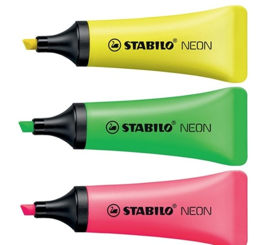 Tube markeerstiften, los per kleur verkrijgbaar