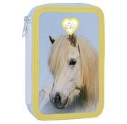 My Favourite friends Gevuld paarden etui - wit paard